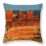 Chocolate Drops Throw Pillow by Greg Norrell