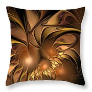 Chocolate Essence Throw Pillow