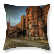 Chocolate Factory Throw Pillow
