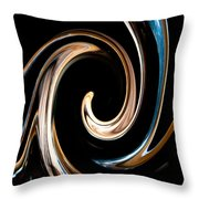 Chocolate Lick Throw Pillow by Dana Kern