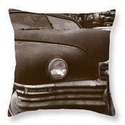 Chocolate Moose Throw Pillow