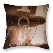 Chocolate Speed Throw Pillow