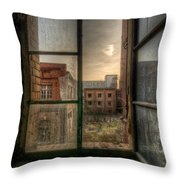 Chocolate Sunset Throw Pillow