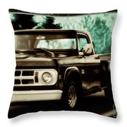 Chocolate Travels Throw Pillow