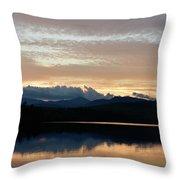 Chocorua At Sunset 2 Throw Pillow