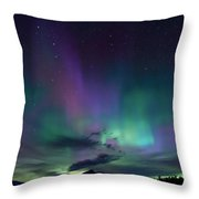 Chocorua Aurora Throw Pillow
