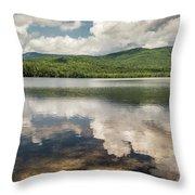 Chocorua Lake Reflections Throw Pillow