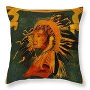 Choctaw 1935 Throw Pillow