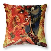 Chod Maithuna Throw Pillow