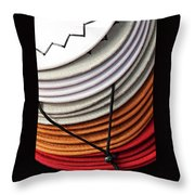 Choices - Western Hat Pileup Throw Pillow