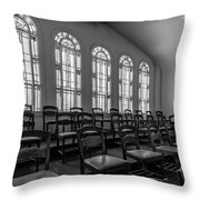 Choir Loft Throw Pillow