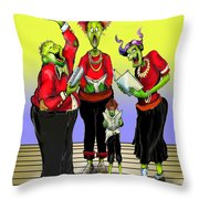 Choir Practice Throw Pillow