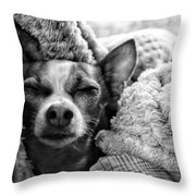 Choji Little Man  Throw Pillow