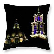 Cholula Church Throw Pillow