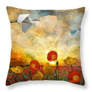 Choose To Fly Throw Pillow