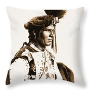 Chopped Up Who Came From A Distance Throw Pillow