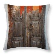 Chora Door Throw Pillow