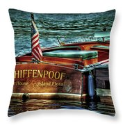 Chris Craft Continental - 1958 Throw Pillow