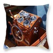 Chris Craft Cruiser Throw Pillow