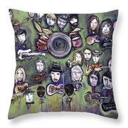 Chris Daniels And Friends Throw Pillow
