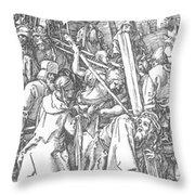 Christ Bearing The Cross 1509 Throw Pillow