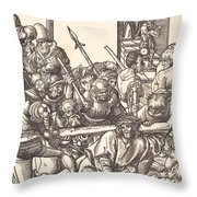 Christ Bearing The Cross Throw Pillow