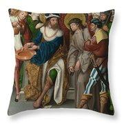 Christ Before Pilate Throw Pillow