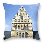 Christ Church College Oxford Architecture Throw Pillow