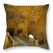 Christ Church Hall Entry Throw Pillow