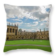 Christ Church Tom Quad Throw Pillow