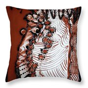 Christ Crucified Throw Pillow