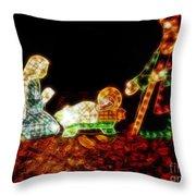 Christ Is Christmas Throw Pillow