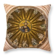 Christ Pantokrator Throw Pillow