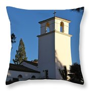 Christ The King Chapel Tower Throw Pillow