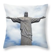 Christ The Redeemer Throw Pillow by Paul Landowski