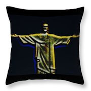 Christ The Redeemer - Rio Throw Pillow