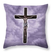 Christ Variations # 2 Throw Pillow