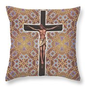 Christ Variations #1 Throw Pillow