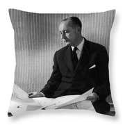 Christian Dior Throw Pillow