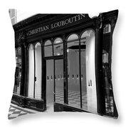 Christian Louboutin 1b Throw Pillow