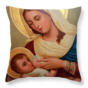 Christianity - Baby Jesus Throw Pillow