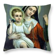 Christianity - Holy Family Throw Pillow