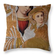 Christianity - Mary And Jesus Throw Pillow