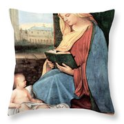 Christianity - Reading Time Throw Pillow