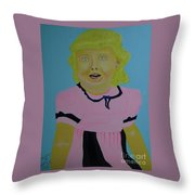 Christine Not To Be Forgotten Throw Pillow