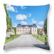 Christinehofs Slott Entrance Throw Pillow