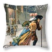Christmas, 1890 Throw Pillow