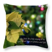 Christmas 3 Throw Pillow