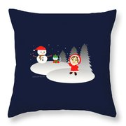 Christmas #6 Throw Pillow