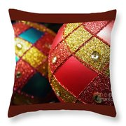Christmas Abstract 18 Throw Pillow